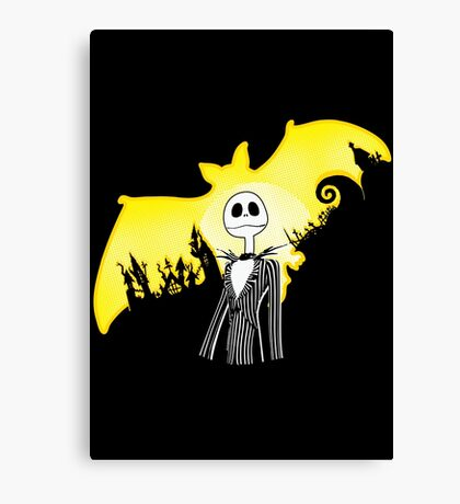 The Dark Nightmare Rises Canvas Print