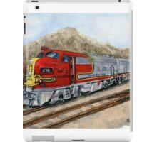 Santa Fe Chieftan Locomotive iPad Case/Skin