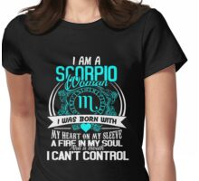 I am a scorpio woman T-shirt Womens Fitted T-Shirt