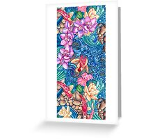 Orchid Splash Greeting Card