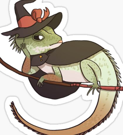 Chinese Water Dragon - Reptar! Sticker