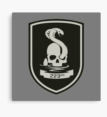 223rd Infantry Regiment Canvas Print