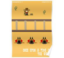 Once Upon a Time in the West- 8 bit Poster