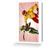 Spitfire Redux Greeting Card