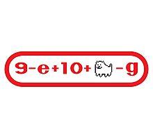 Nintendo Logo? (Puzzle) Photographic Print