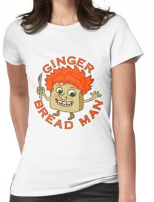 Funny Ginger Bread Man Christmas Pun Womens Fitted T-Shirt