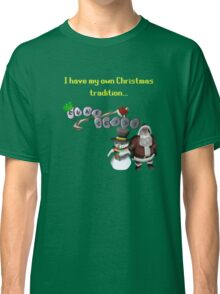 RuneScape Christmas Traditions Classic T-Shirt