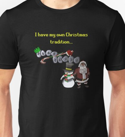 RuneScape Christmas Traditions Unisex T-Shirt