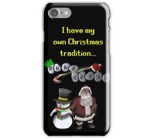 RuneScape Christmas Traditions iPhone Case/Skin