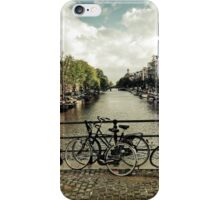 Amsterdam canal iPhone Case/Skin