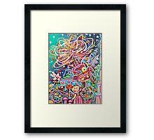 Magic Land Framed Print