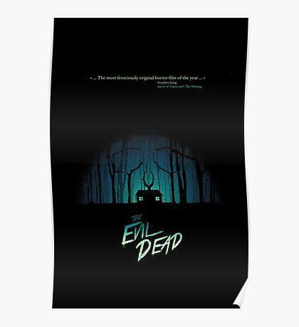 forest evil dead  Poster