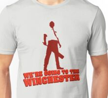 We're Going To The Winchester (Color Print) Unisex T-Shirt