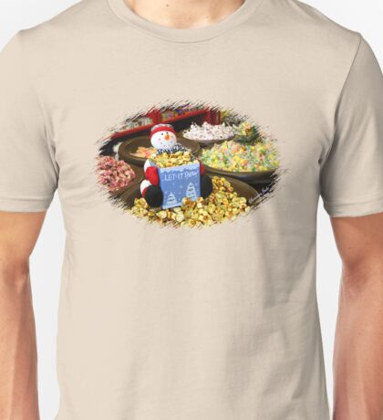 Preparing for Winter in the Candy Store  Unisex T-Shirt