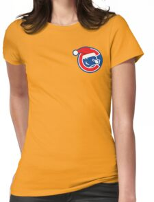 Santa Cubs Womens Fitted T-Shirt