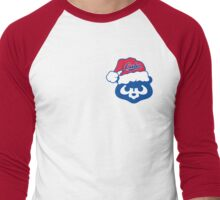 Christmas Cubs Men's Baseball ¾ T-Shirt