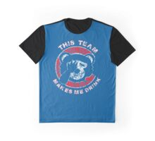This Team Makes Me Drink Graphic T-Shirt