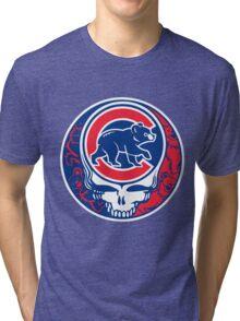 Grateful Cubs Tri-blend T-Shirt