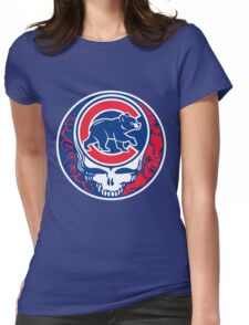 Grateful Cubs Womens Fitted T-Shirt