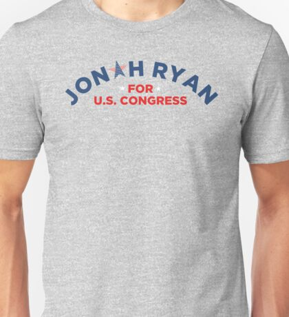 Official Exclusive Jonah Ryan for Congress Shirt Unisex T-Shirt