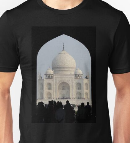 Taj Mahal Through The Gate Unisex T-Shirt