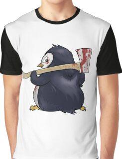 Funny Penguin Cartoon Graphic T-Shirt