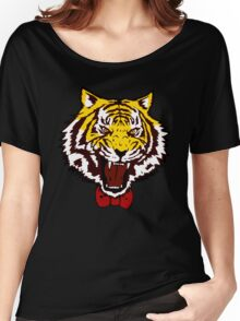 yuri tiger high resolution vector Women's Relaxed Fit T-Shirt