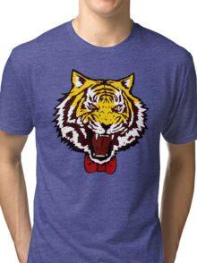 yuri tiger high resolution vector Tri-blend T-Shirt