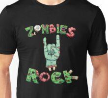 Zombies Rock Apocalypse Concert T Shirt Unisex T-Shirt