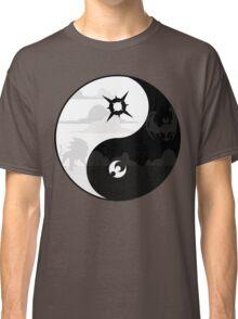 Sun and Moon Yin and Yang Classic T-Shirt