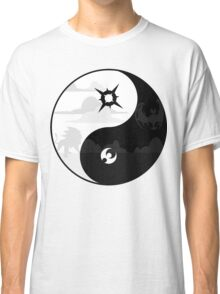 Sun and Moon Yin and Yang Classic T-Shirt