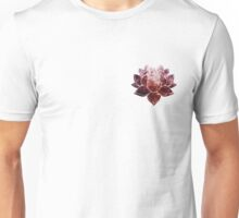 Pink Lotus Flower Unisex T-Shirt