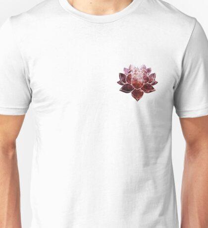 Pink Lotus Flower Unisex T-Shirt