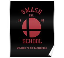 Smash School (Red) Poster