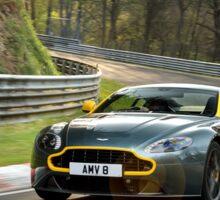 Aston Martin V8 Vantage N430 - Shot on Location at the Nurburgring. Sticker