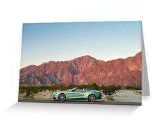 Aston Martin Vanquish Volante - Shot on Location in Berrago Springs. Greeting Card