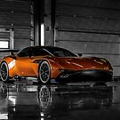 Aston Martin Vulcan - Shot on Location at the Silverstone F1 Circuit by M-Pics