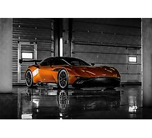Aston Martin Vulcan - Shot on Location at the Silverstone F1 Circuit Photographic Print