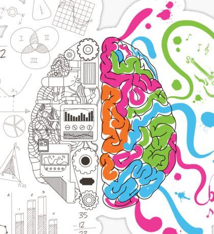 Creative Brain Chemistry Sticker