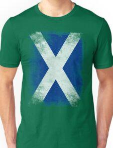 Scotland Flag Proud Scottish Vintage Distressed Shirt Unisex T-Shirt