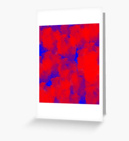 Primary Abstract Greeting Card