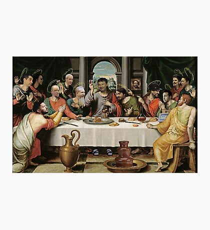 The Last Supper in TESDtown Photographic Print