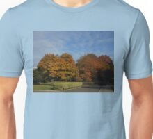 London Temple Grounds in Autumn Unisex T-Shirt