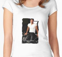 My Kind Of Man (Keanu Reeves Biker) Women's Fitted Scoop T-Shirt
