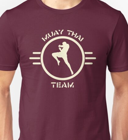 Team Muay Thai Unisex T-Shirt