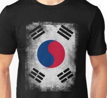 South Korea Flag Proud Korean Vintage Distressed Shirt Unisex T-Shirt