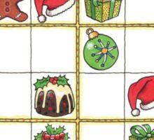 Hohohodoku Christmas puzzle Sticker