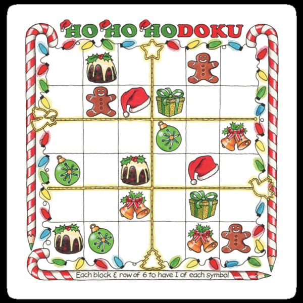 Hohohodoku Christmas puzzle by heatherjoy