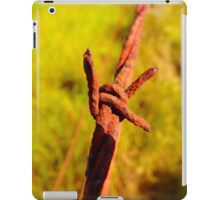 Fence Wire ver1 iPad Case/Skin