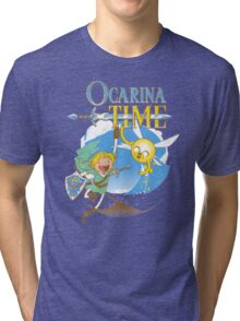 ocarina time Tri-blend T-Shirt
